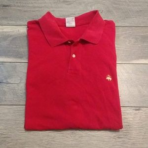 Brooks brothers 346 men's red polo shirt